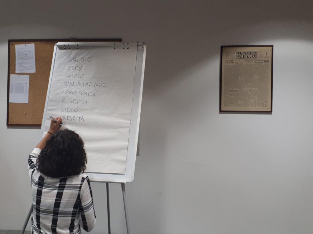 Attivit Fondazione Ermanno Casoli Revolve Recycled Circuit Board Picture Frames Elena Mazzi Mass Age Message Mess 2018 Un Momento Del Workshop Con Gli Studenti Della 24ore Business School